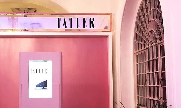 Tatler Magazine Concept Fopundry Signage